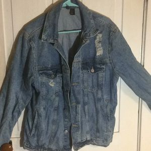 H&M's divided Jean jacket